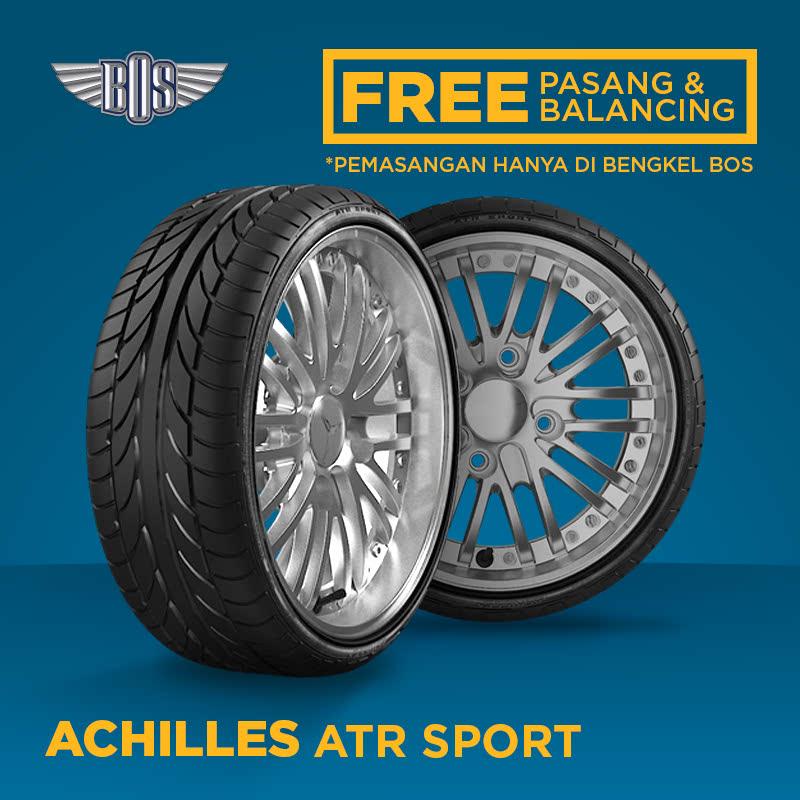 Ban Achilles ATR Sport - 185-55 R15 82V - GRATIS PASANG DAN BALANCING