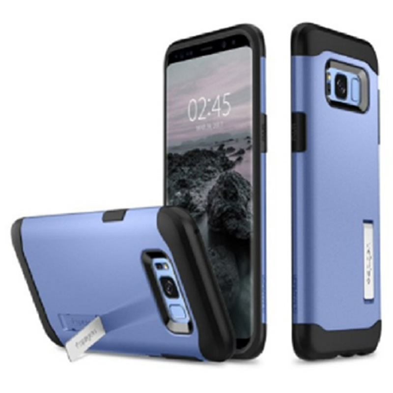 Spigen Galaxy S8 Case Slim Armor - Coral Blue
