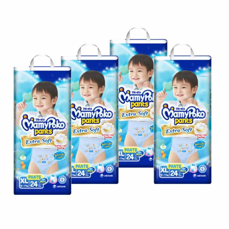 MAMY POKO PANTS EXTRA SOFT XL (BOY) 24 (4 Pcs)