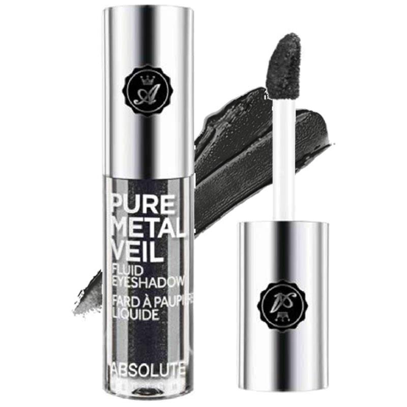 Absolute New York Pure Metal Veil Fluid Eyeshadow Blackout