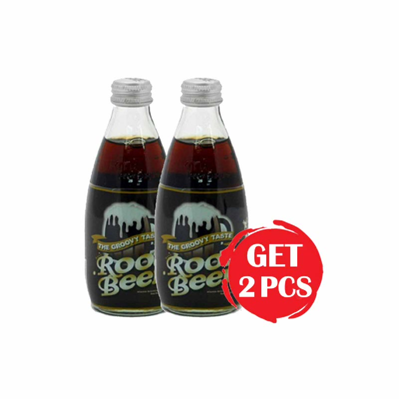 Root Beer Botol 250 Ml (Get 2)