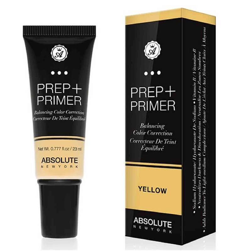 Absolute New York Prep Primer Balancing Color Correction Yellow