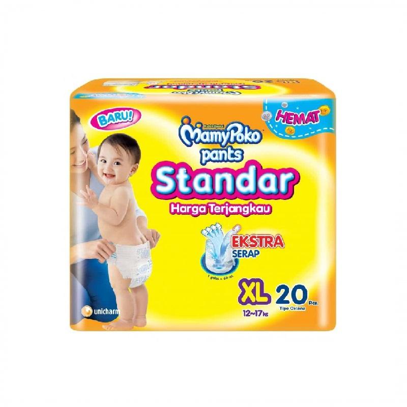 Mamypoko Popok Celana Standar XL Isi 20 Pcs