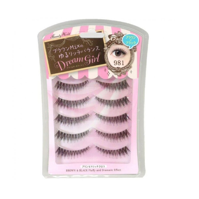Lucky 5 PM 981 False Eyelashes (5 pairs)