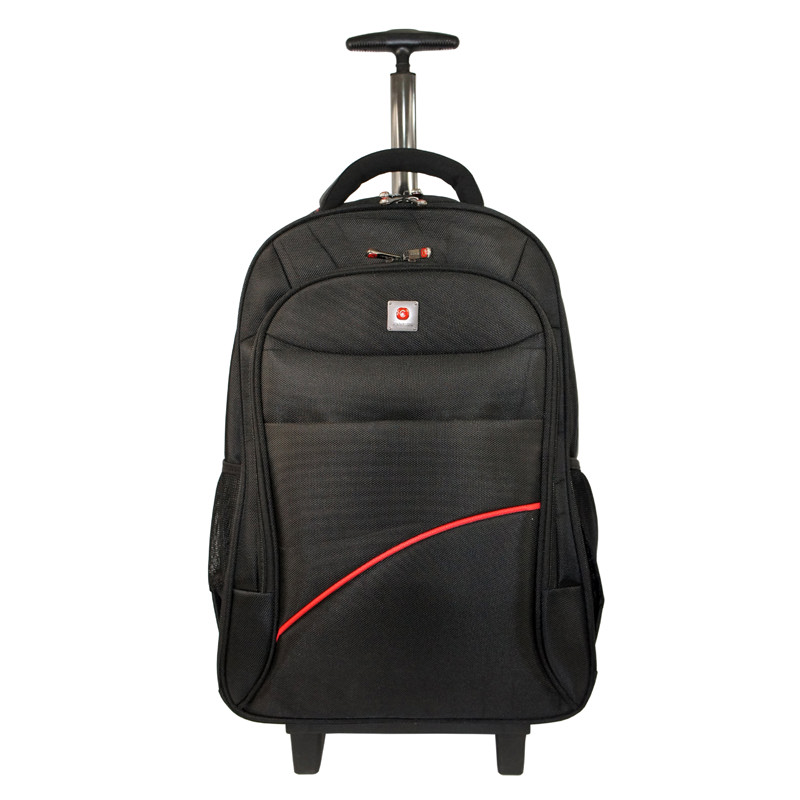 Polo Classic Bacpack Trolley 2052-21 Black