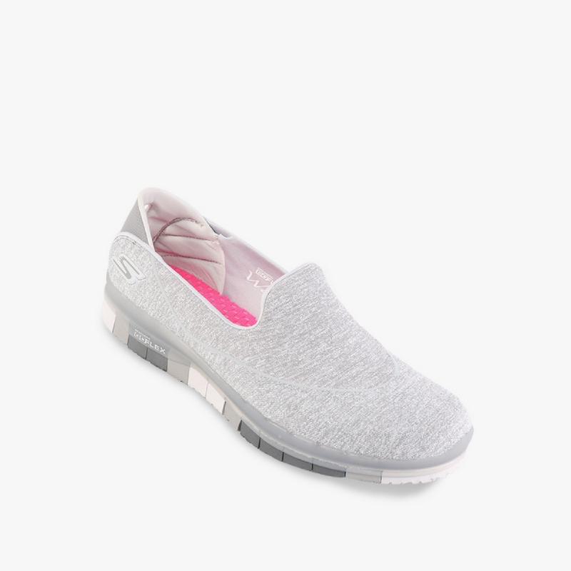 Skechers Go Flex Walk - Muse Women Lifestyle Shoes Grey