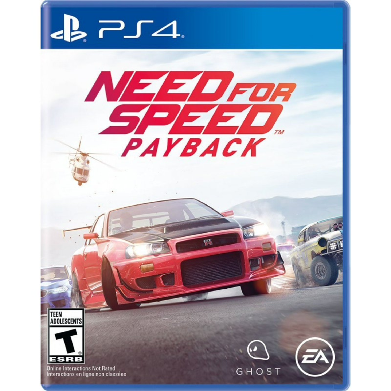Sony PlayStation Need for Speed Payback Reg 3