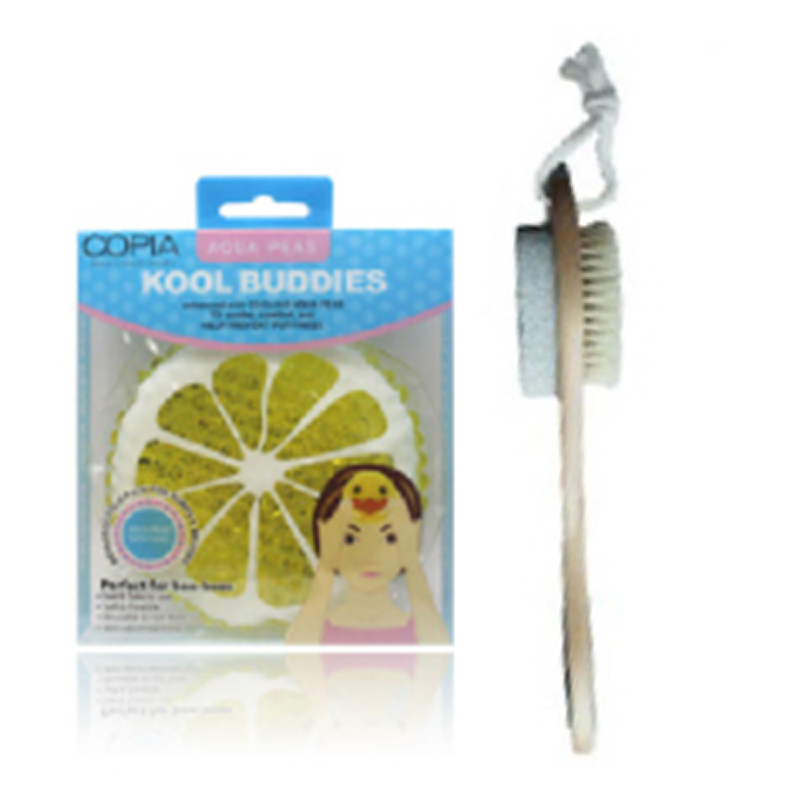 Copia Aqua Peas Hot & Cold Kid'S Kool Buddies + Copia 4 In 1 Brush
