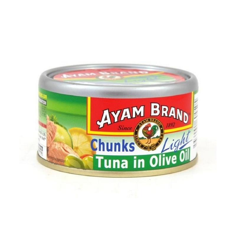 Ayam Brand Tuna Chunk In Olive Oil 185Gr