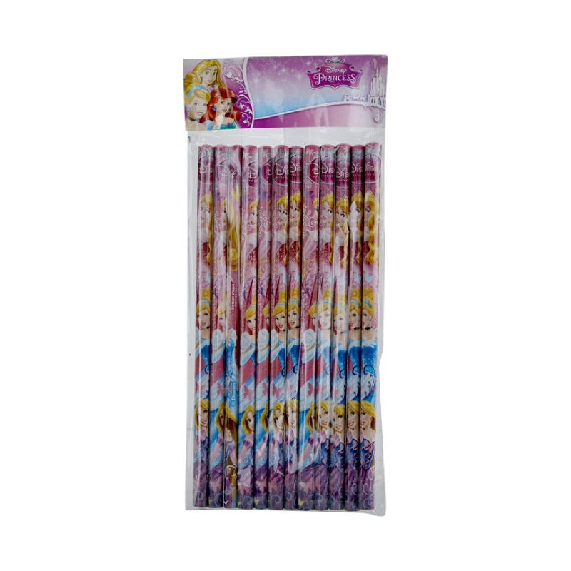 Princess Pencil Include 12 Pcs