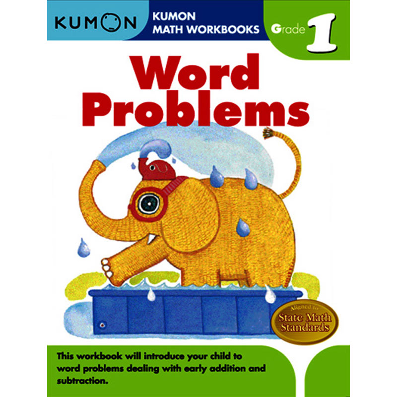 Kumon Grade 1 Word Problems