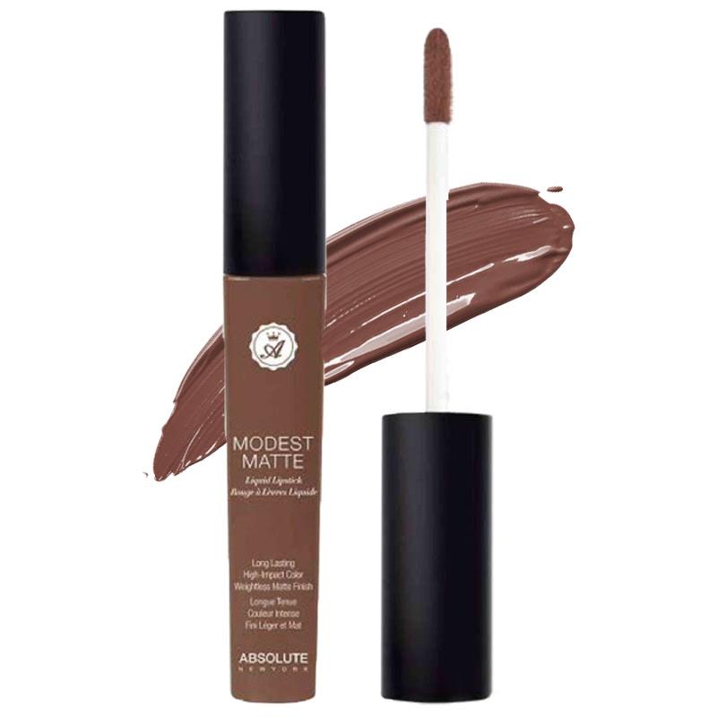 Absolute New York Modest Matte Liquid Lipstick Veiled