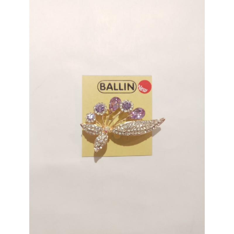 Ballin - Women Brooch LF BRXZ8070 22 Silver