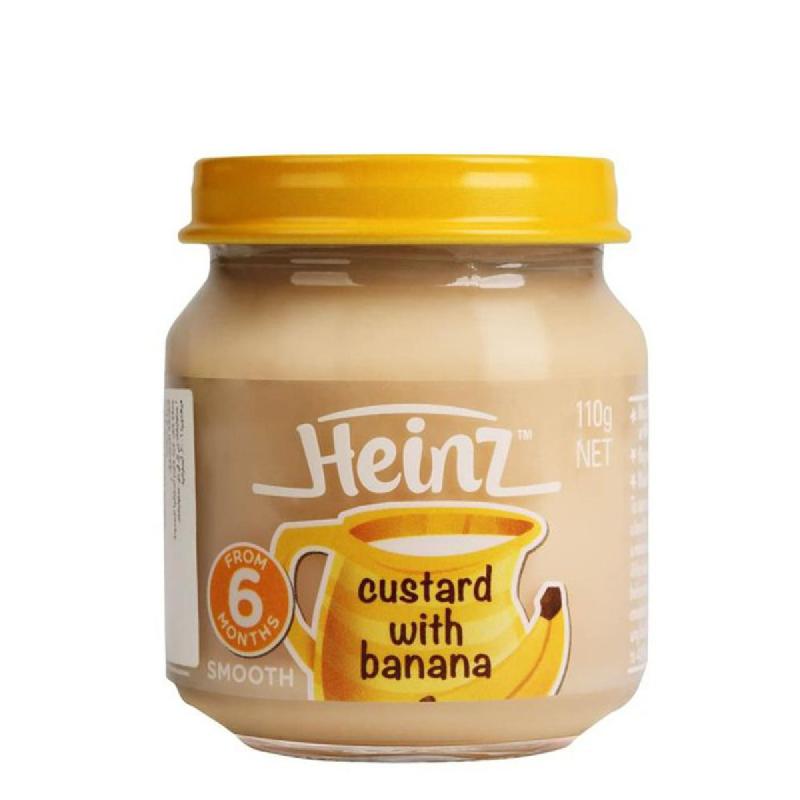 Heinz Smooth Custard With Banana 110Gr