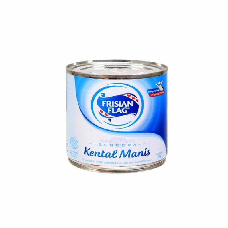 Frisian Flag Sweetened Condensed Milk Can 370G