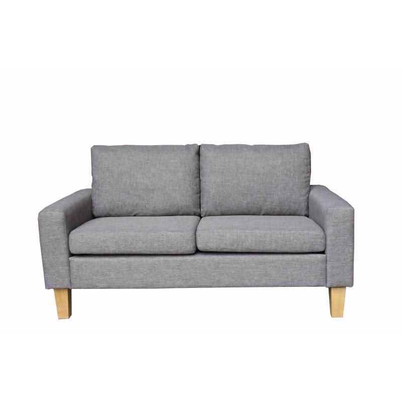 JYSK Sofa 2Seater Burkal 145X74X79Cm Grey