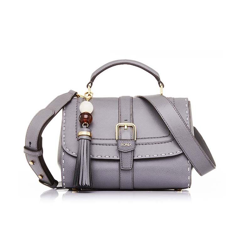 Bonia Satchel Bag Silvana - Grey