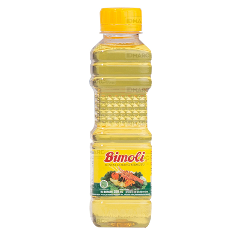 Bimoli Minyak Goreng 250 ml Botol - 6 pcs