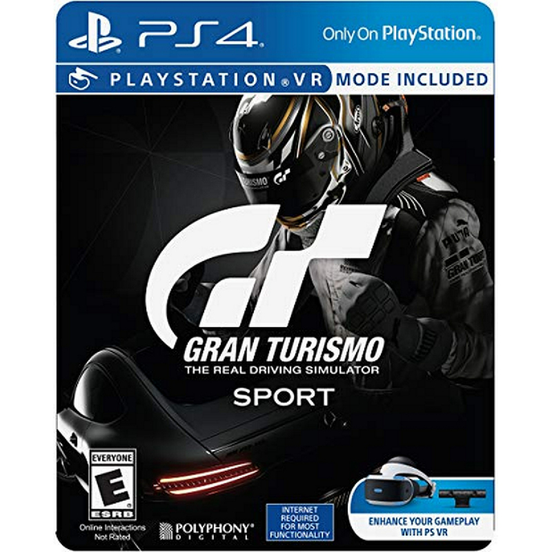 Sony Playstation Gran Turismo Sport Steelcase Reg all - PS4