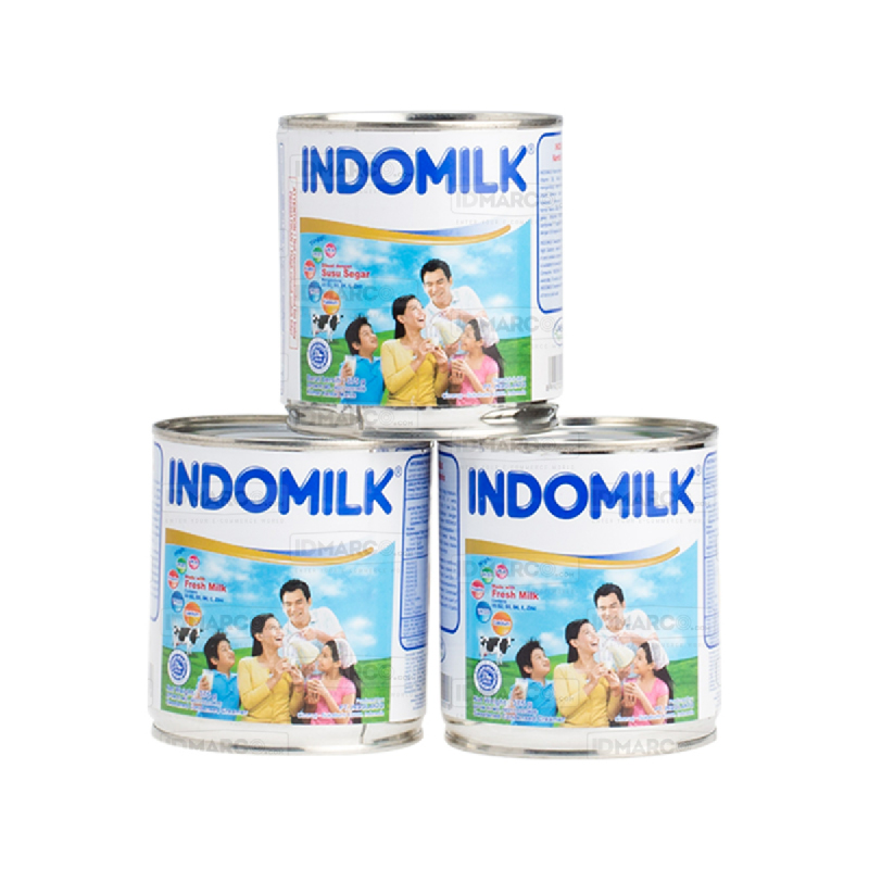 Indomilk Kental Manis Plain 375 gr
