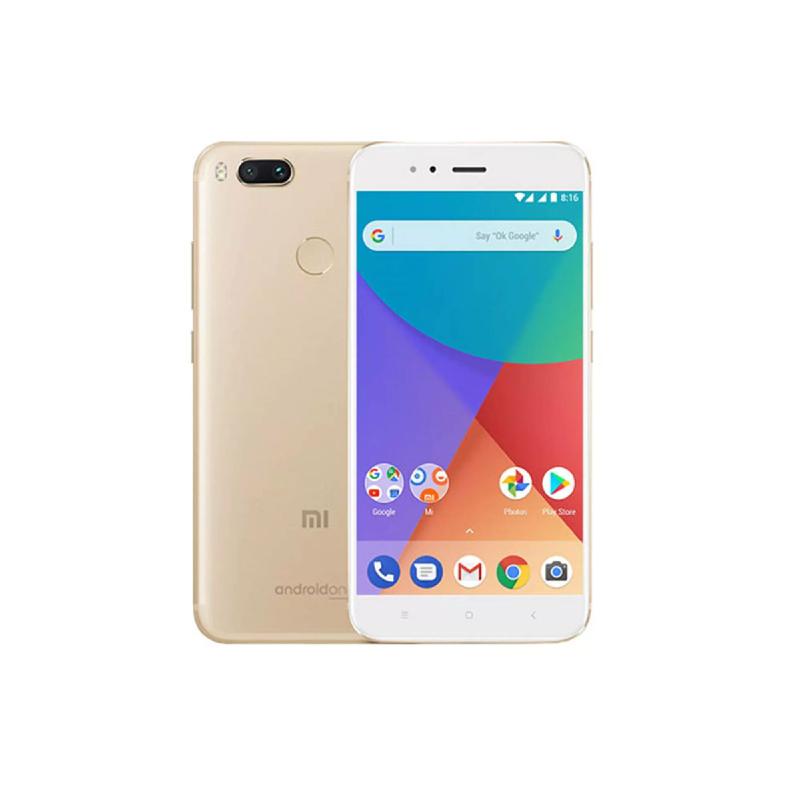 Xiaomi MDG2 Mi A1 Gold Bundling Indosat 200rb Perbulan (1thn)