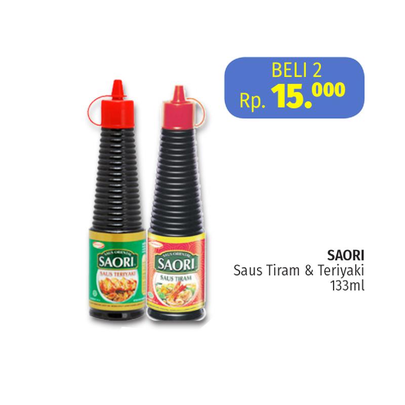 Saori Saus Tiram Botol 133 Ml (2 Pcs)