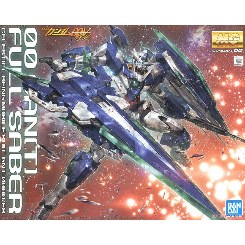 Gundam MG 1-100 00 Qant Full Saber