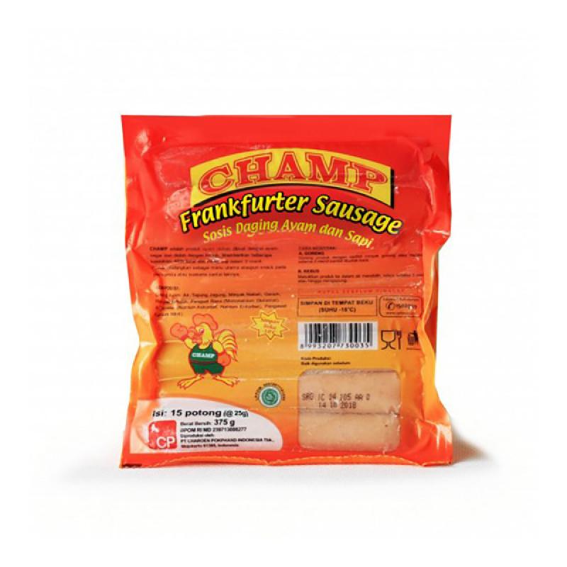 Champ Frankfurter Sausage 375G