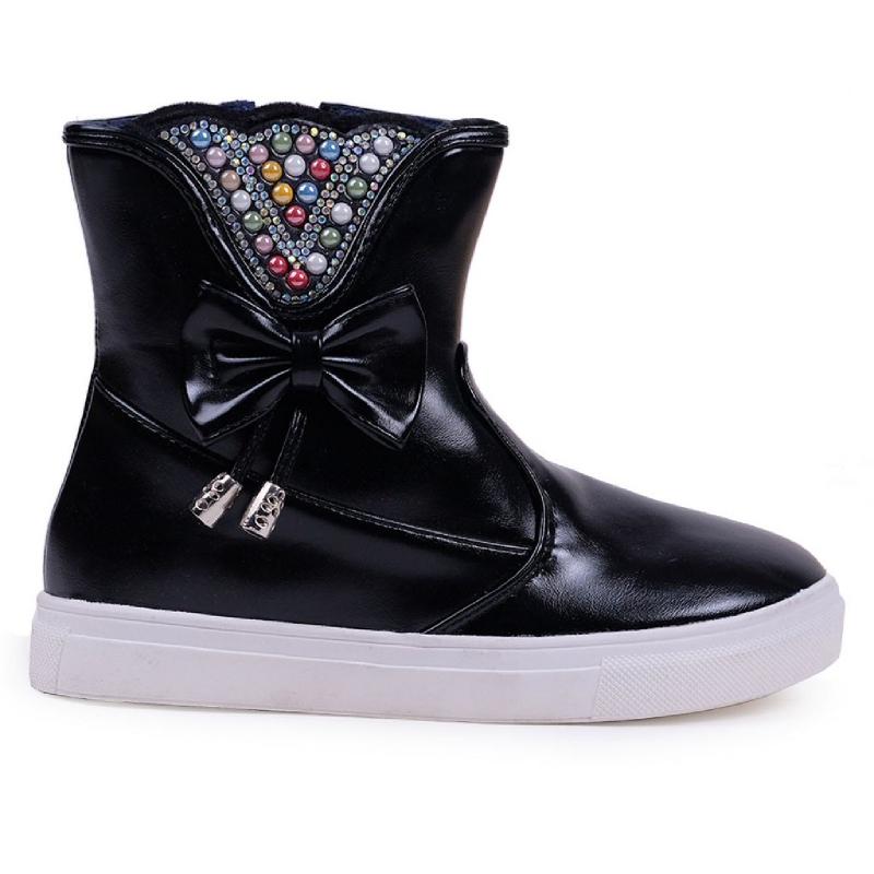 Austin Kids Boots Elisabeth - Black
