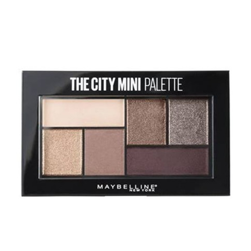 Maybelline Eye Shadow The City Mini Palette - Chill Brunch Neutral