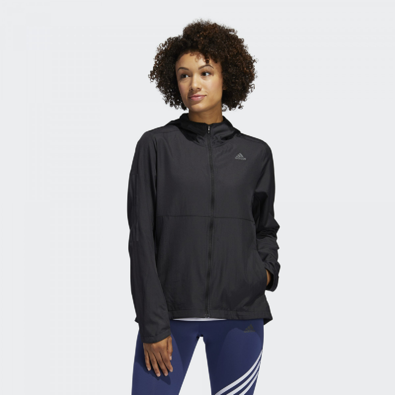 Adidas Own The Run Hooded Wind Jacket FM6928