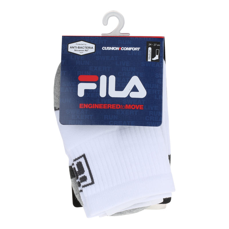 Fila Quarter Socks Sfondo White