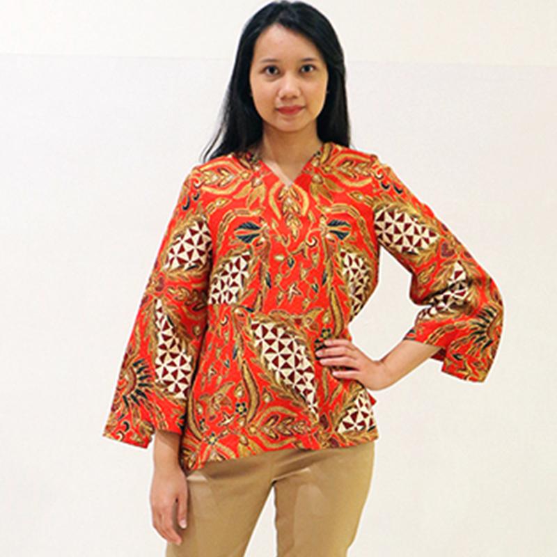 Batik Semar Lira Blouse (Size 3L)