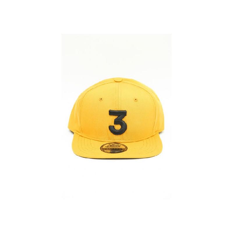3Second Men Hat 0704 Yellow