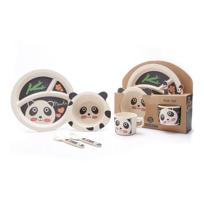 Panda Kids Tableware Set