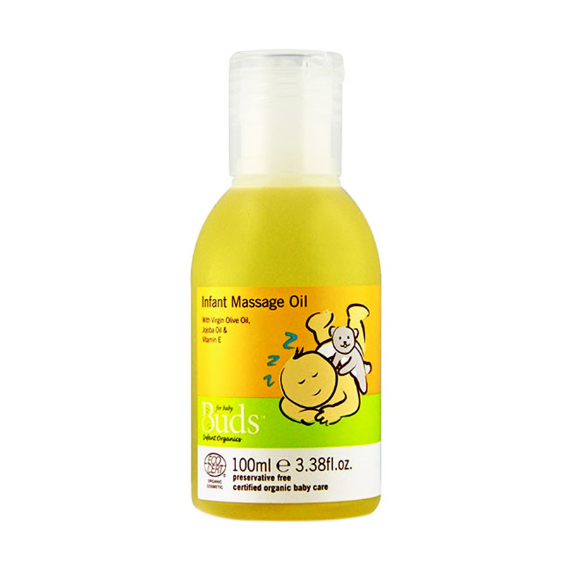 Buds Organics Infant Message Oil [100 mL]