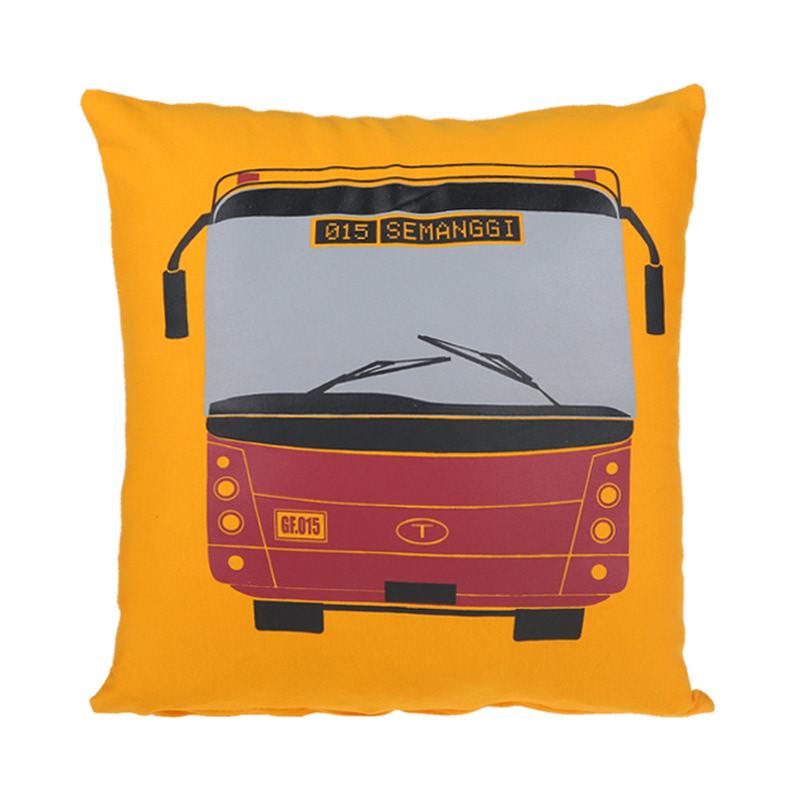 Toimoi Pillow Transjakarta Yellow