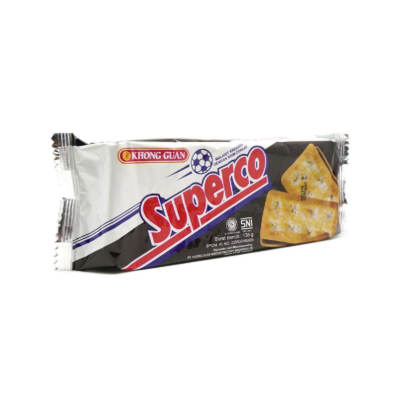 Khong Guan Superco Cream Choco Cracker 138g
