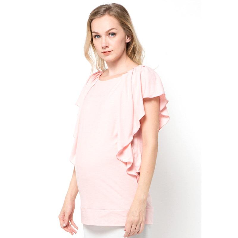 Chantilly Maternity&Nursing Top Neisha 26007 - Pink