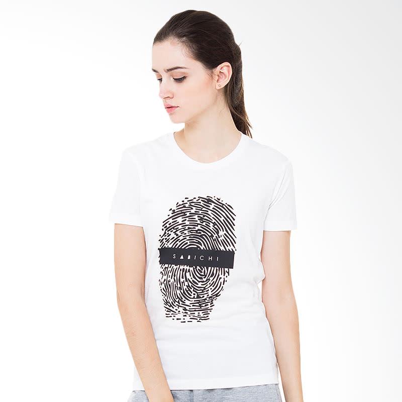 Sabichi Finger Print White BC T-shirt