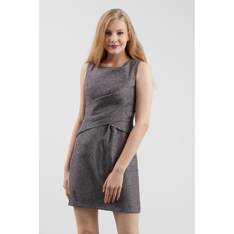 GW Gammer Dress in Dark Grey