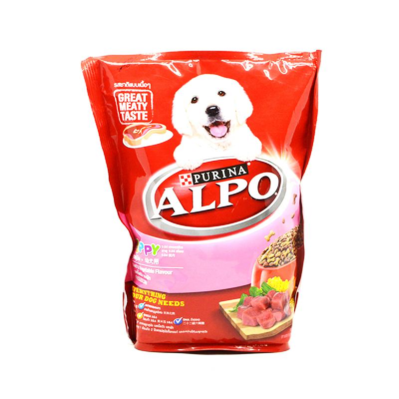 Alpo Puppy Beef+Veg+Wmes 450Gr