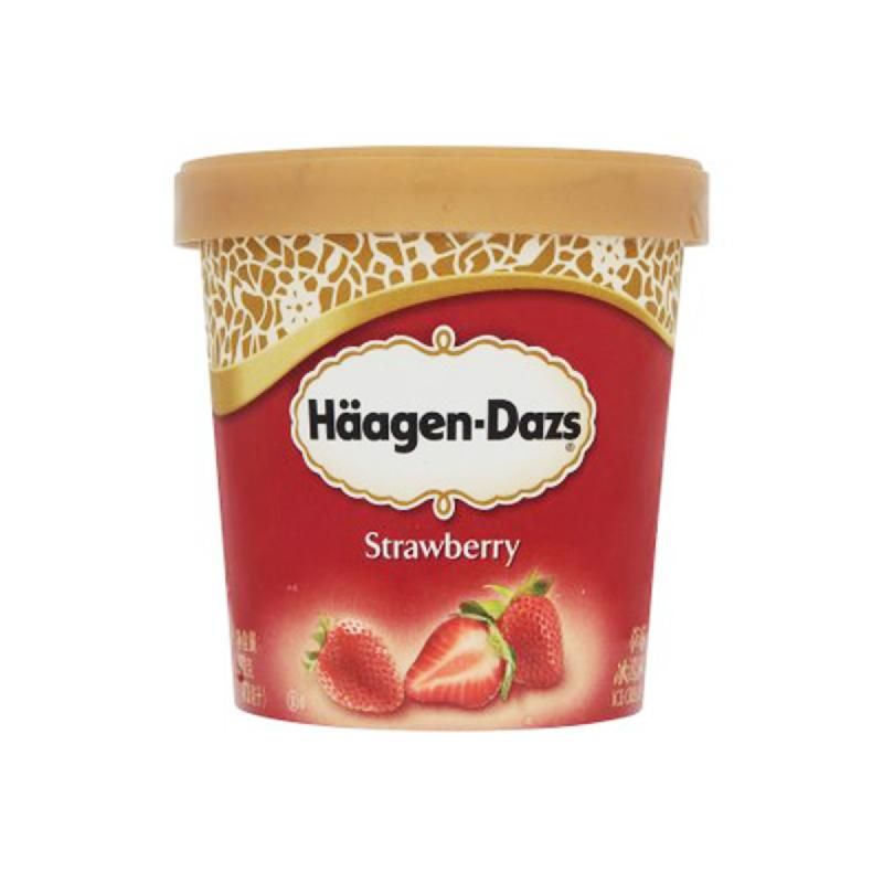Haagen Dazs Strawberry 473Ml