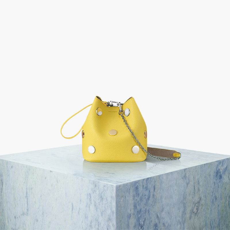 Find Kapoor Pingo Bag 16 Metal Chain Set - Yellow