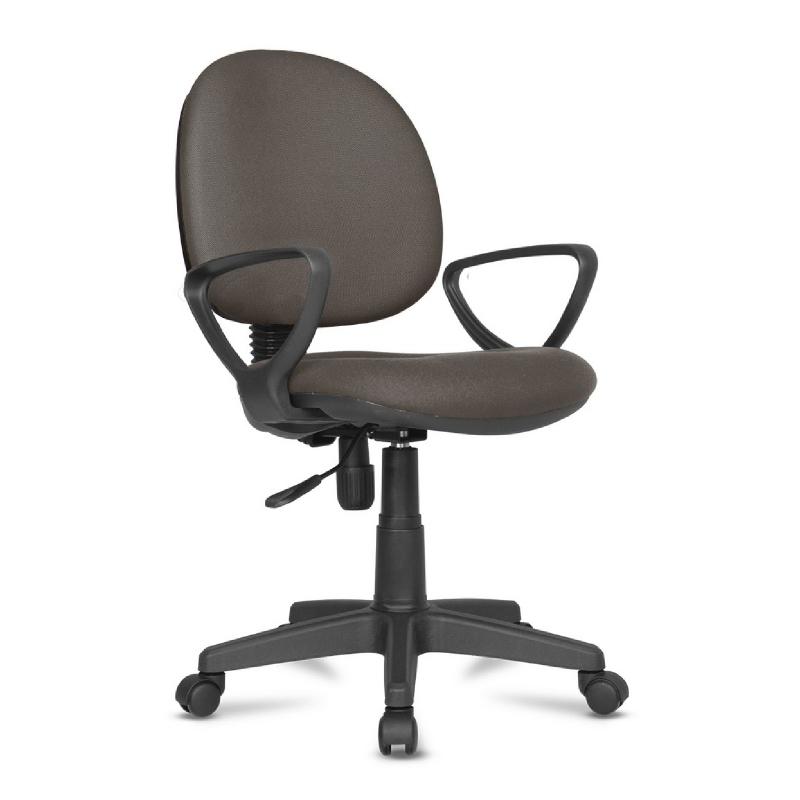 Kursi kerja kursi kantor BK Series - BK24 Brown - PVC Leather
