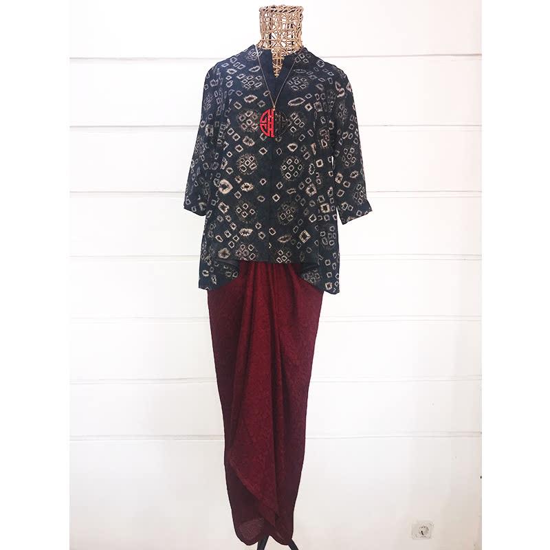 Batik Chic Rok Kain Merah