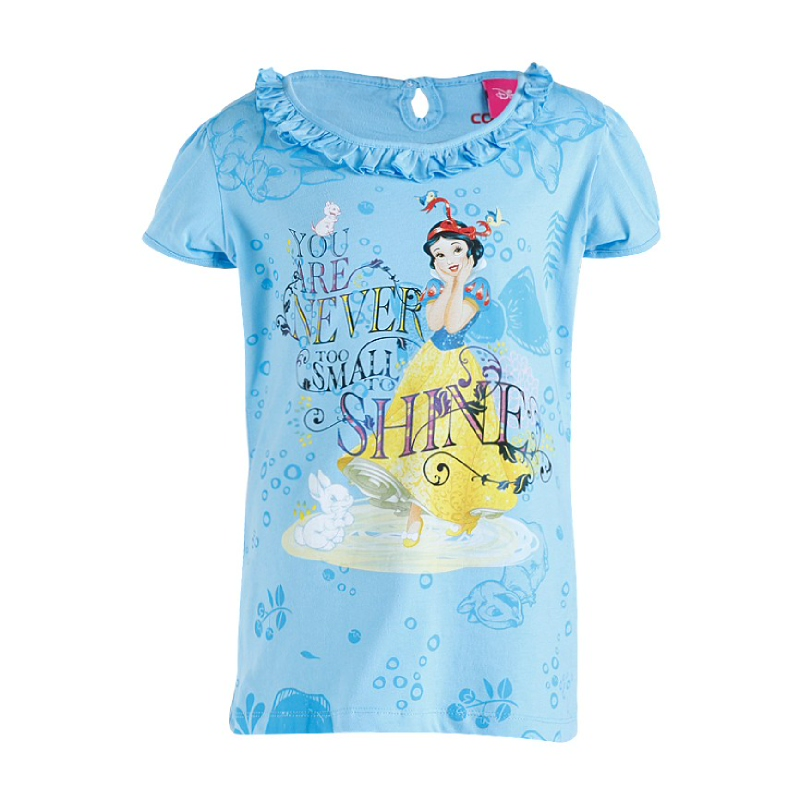 princess Ariel T-Shirt Girl Blue