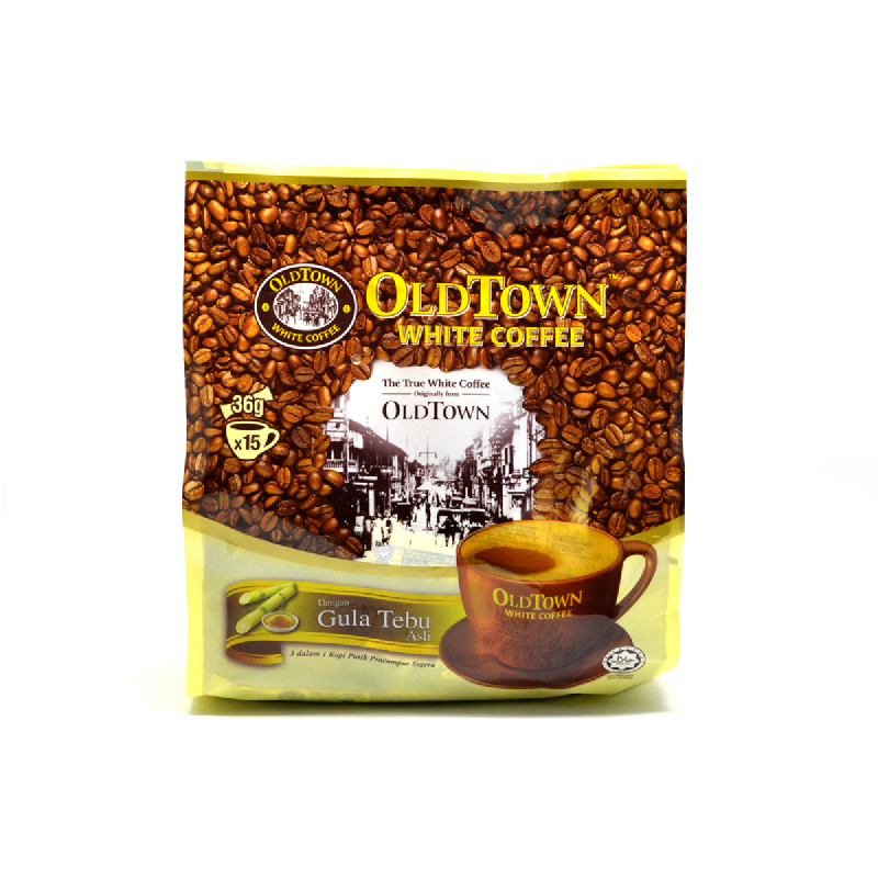 Old Town 3In1 White Coffee Natural Cane