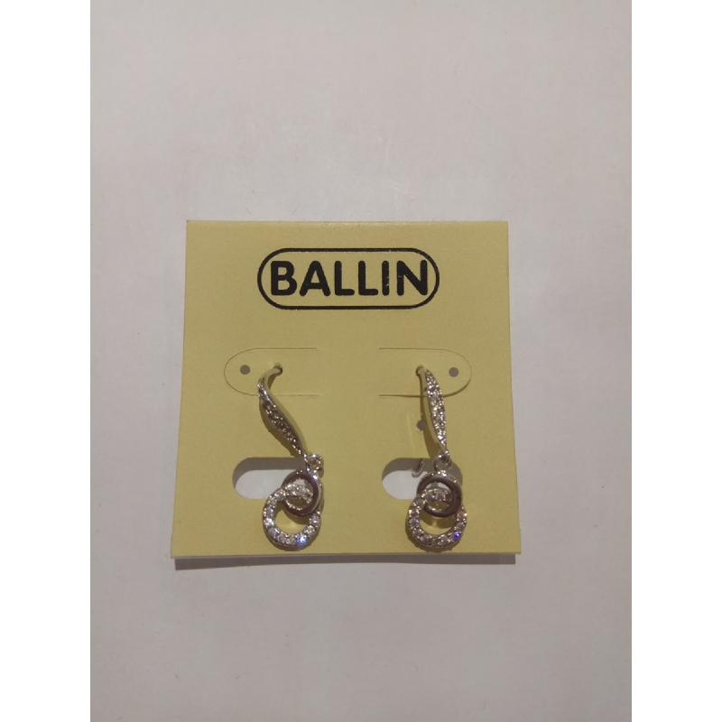 Ballin Women Earing FF-NE0016S Silver
