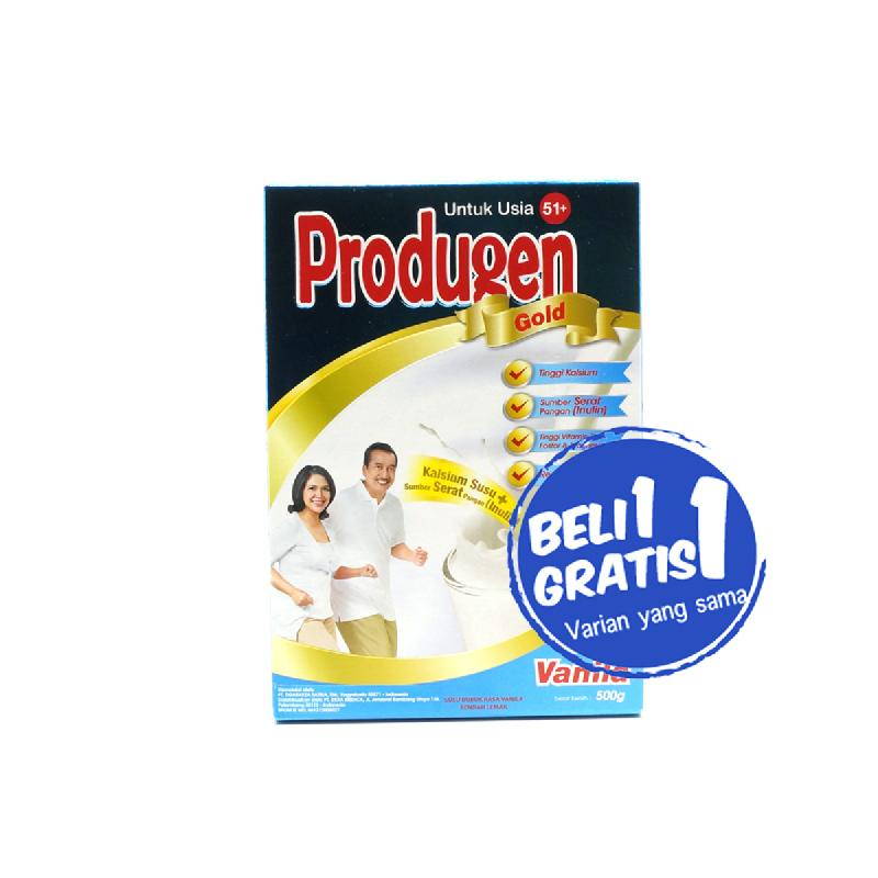 Produgen Hi Cal Gold Vanila 500 Gr (Buy 1 Get 1)
